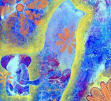 Garden in my heART - Elephant & Chicken by LovingRd