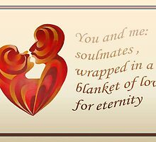 Soulmates Wrapped In A Blanket of Love by taiche