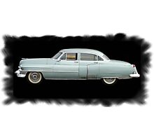 Old School Caddy Photographic Print