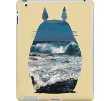 Totoro Ocean Side iPad Case/Skin