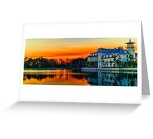 Celebration, Florida at Sunset Greeting Card