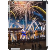 Fireworks from Epcot - Illuminations Reflections of Earth iPad Case/Skin