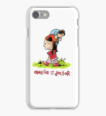 Amelia and the Doctor iPhone Case/Skin