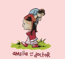 Amelia and the Doctor One Piece - Short Sleeve