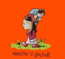 Amelia and the Doctor Kids Tee