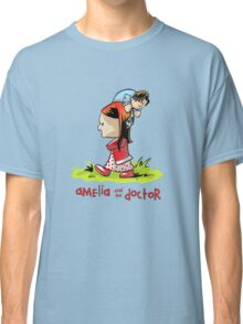 Amelia and the Doctor Classic T-Shirt