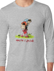 Amelia and the Doctor Long Sleeve T-Shirt