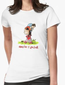 Amelia and the Doctor Womens Fitted T-Shirt