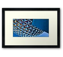 Like A Grand and Miraculous Spaceship Framed Print