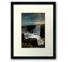 Tidal Imagination Framed Print