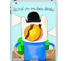 Son of Finn / Magritte Meets Adventure Time  iPad Case/Skin