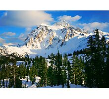 Shuksan Winter Photographic Print