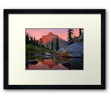 Highbox Peak Framed Print