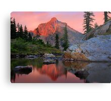 Highbox Peak Metal Print