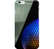Night at Epcot - Spaceship Earth iPhone Case/Skin