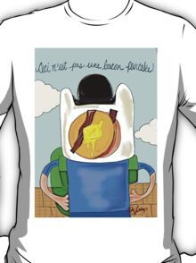 Son of Finn / Magritte Meets Adventure Time  T-Shirt