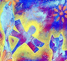 Garden in my heART - Dragonfly by LovingRd