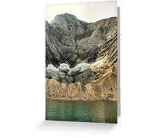 Frozen Lake Greeting Card