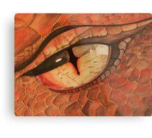Smaug The Dragon Metal Print