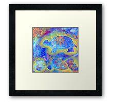 Garden in my heART - Turtle Framed Print