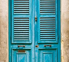 Louvred Malta Door by PhotoWorks
