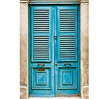 Louvred Malta Door Photographic Print