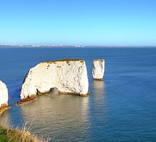 Old Harry Rocks by Adam Gormley