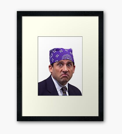 prison mike Framed Print