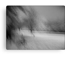 Snow before Christmas  Canvas Print