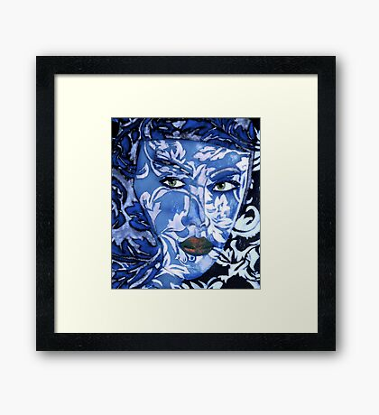 China Girl Framed Print