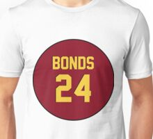 Retro Arizona State University Sun Devils Barry Bonds #24 Back Unisex T-Shirt