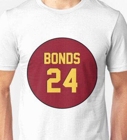 Retro Arizona State University Sun Devils Barry Bonds #24 Back Unisex T-Shirt