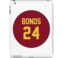 Retro Arizona State University Sun Devils Barry Bonds #24 Back iPad Case/Skin