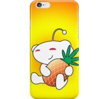 Reddit Alien with a Pineapple iPhone Case/Skin