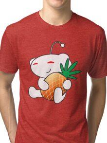 Reddit Alien with a Pineapple Tri-blend T-Shirt