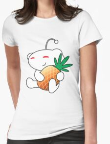 Reddit Alien with a Pineapple Womens Fitted T-Shirt