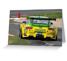 Porsche GT3 RSR .... Greeting Card