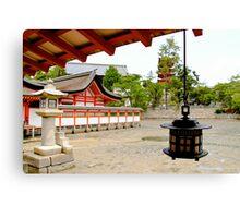 Shinto Temple Canvas Print