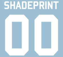 Shadeprint.   Official Numbers. One Piece - Short Sleeve