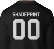 Shadeprint. | Official Numbers. Long Sleeve T-Shirt