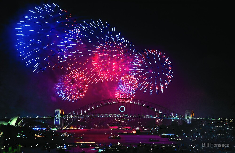 New Years Eve - Sydney by Bill Fonseca