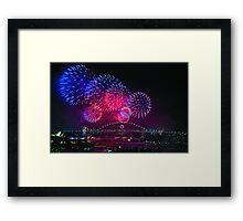 New Years Eve - Sydney Framed Print
