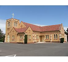 Woodside Lutheran Church Photographic Print