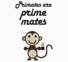 Primates are Prime Mates One Piece - Short Sleeve