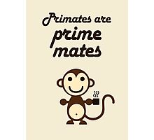 Primates are Prime Mates Photographic Print