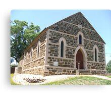 Mt Torrens Community Church c1854 Canvas Print