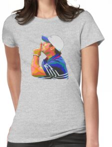 Shhhhh Patrick Reed Womens Fitted T-Shirt