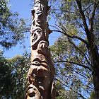 Totem pole  by Greg  Francis