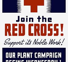 Join The Red Cross! Support Its Noble Work by warishellstore