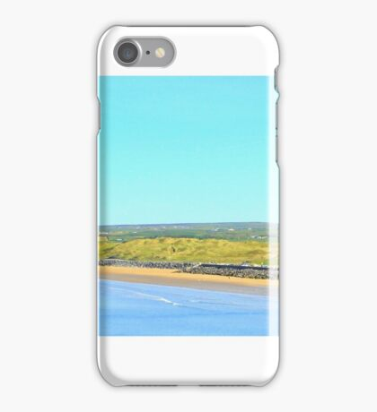 Lahinch Beach and Liscannor Bay - Golf Links View iPhone Case/Skin